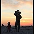 爸爸與兩個孩子