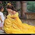 這位扮演公主的女生很漂亮