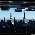 與逸竹約在海邊的餐廳