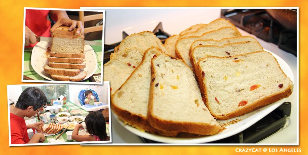2012/9/13 義式水果麵包