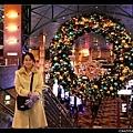 耶誕大花圈