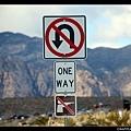 整個公園裡只有一條單行道路。 下面是禁止射擊嗎?