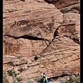 攀岩的人們