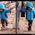 孩子的步伐