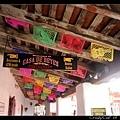 墨西哥風味的彩色小旗