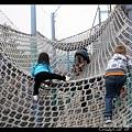 非常大的高空繩網