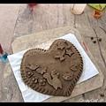 我們做的陶土掛牌~~