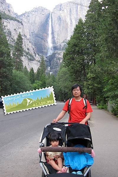 Yosemite Falls (Q寶睡得不省人事)