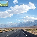 east sierra 我們就這樣沿著山脈往南開