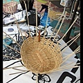 藝術村編籃子的藝術家