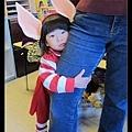Q寶同學扮成小豬