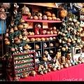 用葫蘆瓜做成的飾品