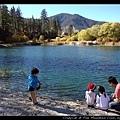 好美的小湖