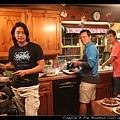 今晚由三位男士掌廚!