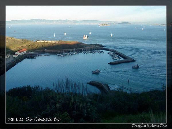 美麗的舊金山灣