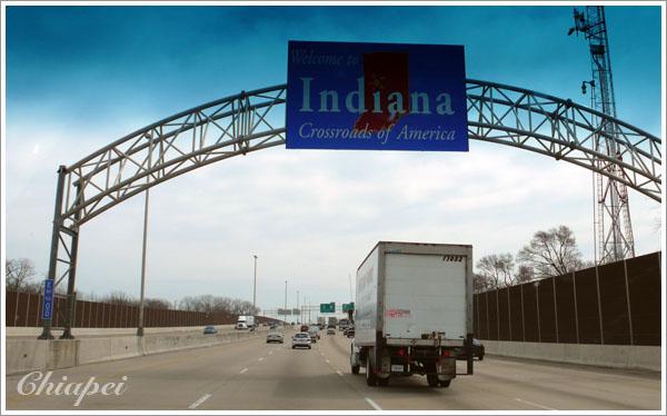 Indiana 州界