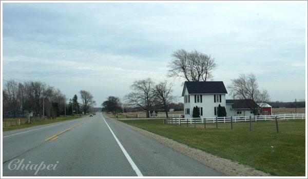 可愛的鄉村小房子