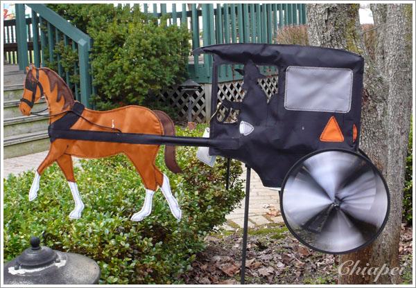Amish 馬車