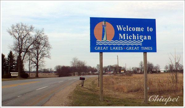 Michigan 州界