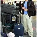 很壯觀的行李吧!XD