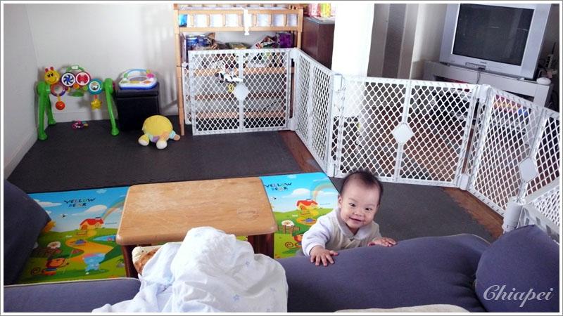2/28 寶寶的遊戲區愈來愈大了