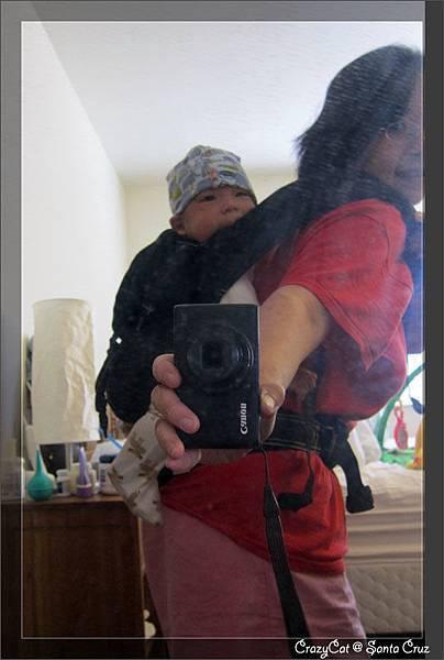 4/8 媽媽的新武器:Ergo baby carrier