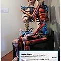 布雕藝術家最得意的骷髏作品