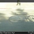 夫夫打算載乖寶騎過金門大橋,自備腳踏車