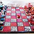 西洋棋布雕