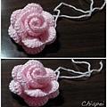 鉤針玫瑰花