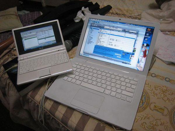 EeePC X MacBook