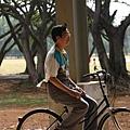 高春霖騎腳踏車也是很帥的@國二