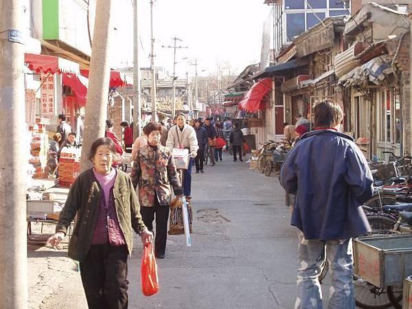 北京城區內的舊街
