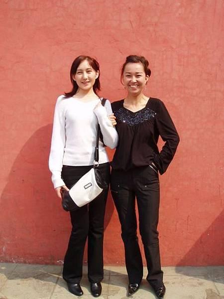 兩個哈薩克女孩