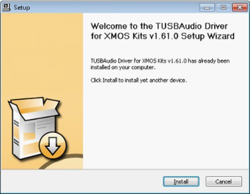 Tusbaudio Driver for XMOS Kits - Kevyzo-Skkima