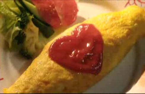 蛋包飯放大圖