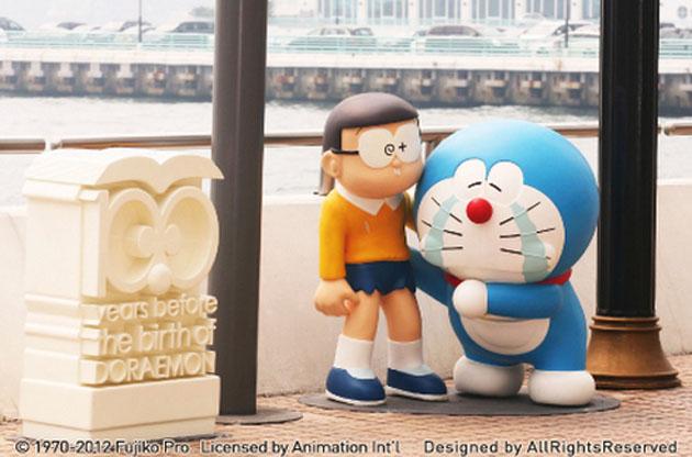 哆啦a夢百年展經典場景2