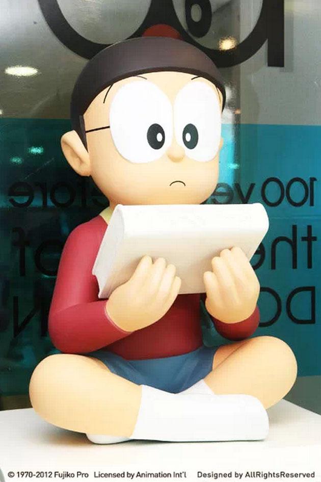 哆啦a夢百年展角色