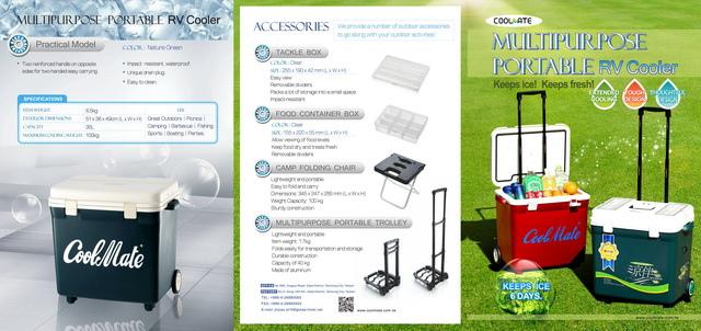 行動小冰箱DM設計