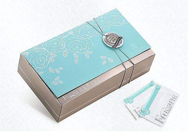 玫瑰膠原蛋白禮盒設計