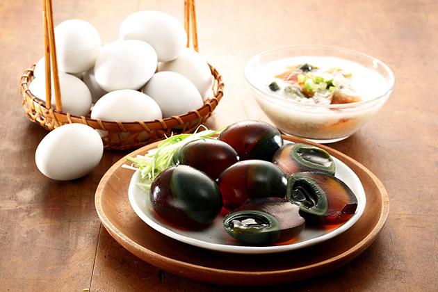 桂園嚴選_皮蛋盒包裝設計