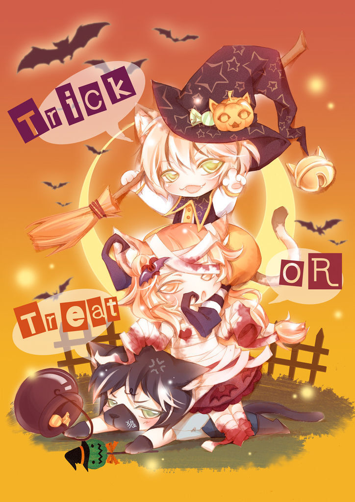 [喵星人]Trick OR Treat! Halloween~