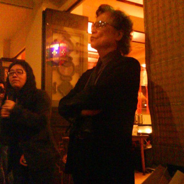 餐會上的島田莊司.JPG