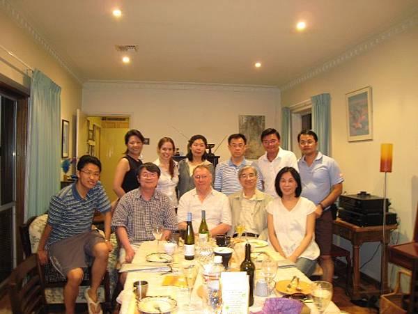 20090202晚餐in John Braithwaite 家中