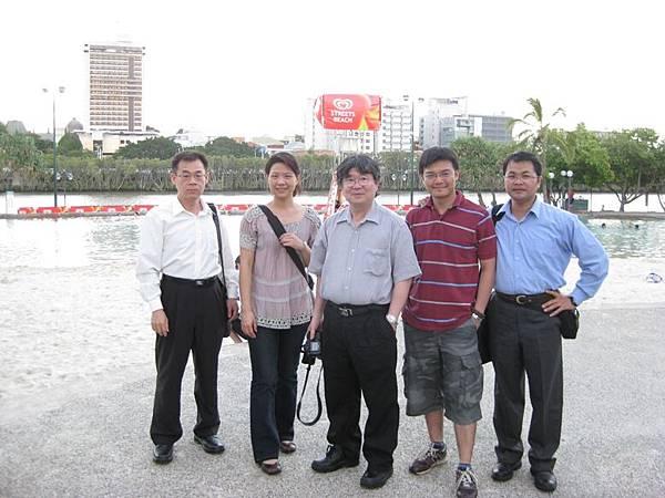 20090203 south bank河岸晚餐
