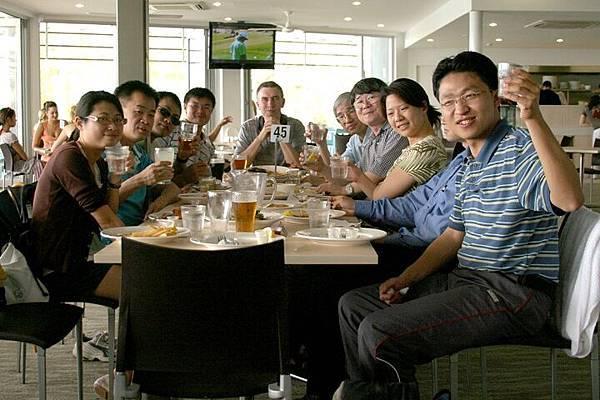 20090203 NOOSA BEACH 午餐