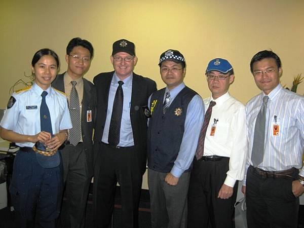20090204 拜訪昆士蘭警察局