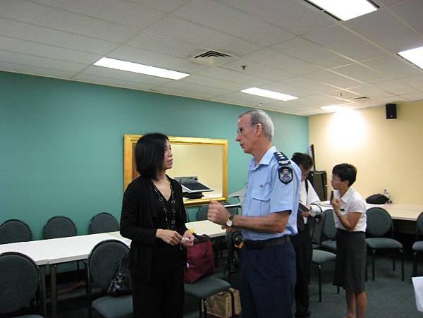 20090204拜訪昆士蘭警察局