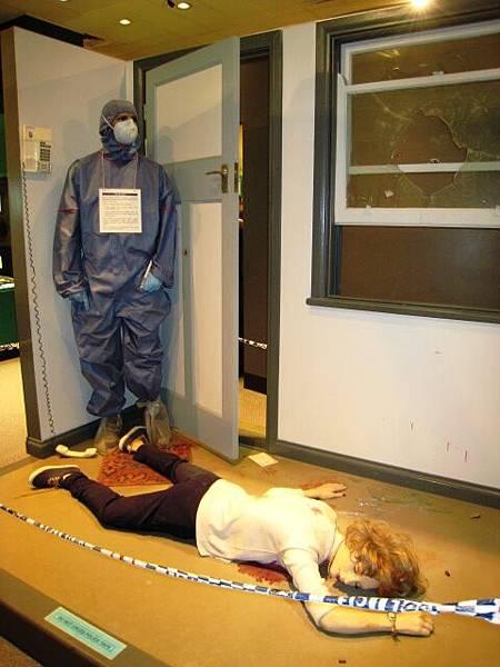 20090204拜訪昆士蘭警察局(模擬凶殺案現場)