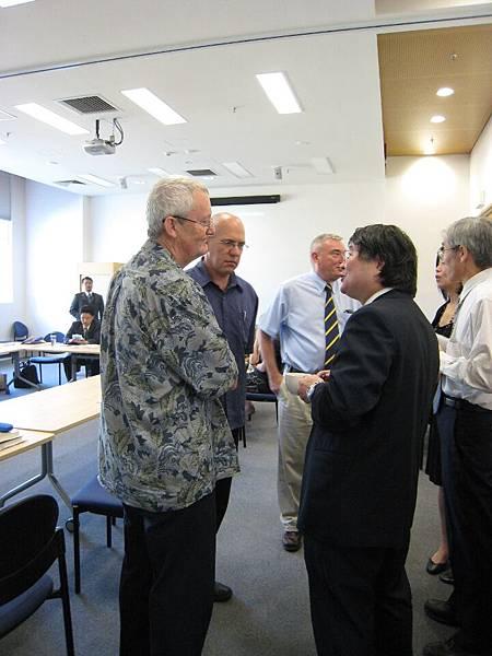 20090205拜訪澳洲國家大學ANU